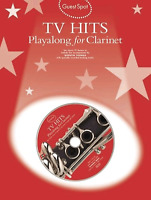 TV THEMES For Clarinet Sheet Music Book & Backing Tracks CD Shop Soiled