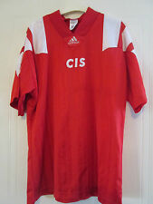 "CIS 1991-1992 Russia USSR Home Football Shirt Size 44""-46"" /39383"