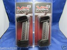 TWO Factory Springfield Armory XDs 9MM 9 Round Extended Magazine XDS MAG 9 CLIP