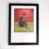"Michael Jordan Rare Air ""The Warrior"" Lithograph Collectors Picture"