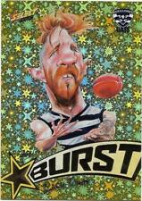 2018 Footy Stars Starburst Caricature YELLOW (SBY28) Zach TUOHY Geelong