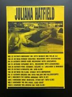 Juliana Hatfield Concert Poster Australia 1999