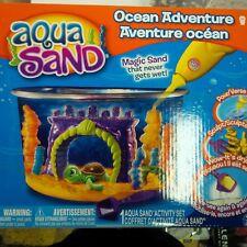 Aqua Sand Mermaid Island & Ocean Adventure Both sets Brand New NIB Discontinued