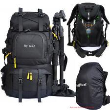 "Waterproof DSLR Camera Backpack +a Shoulder Bag Rain Cover 15.6"" 17"" Laptop Bag"