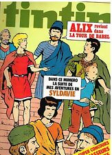 B17- Tintin N°286 Alix dans la Tour de Babel
