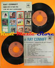 LP 45 7'' RAY CONNIFF Smoke gets in your eyes I'm an old italy RCA cd mc dvd