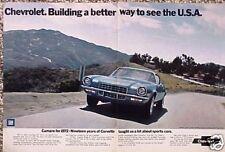 1972 72 Chevy Camaro ORIGINAL Vintage Ad  5+= FREE SHIP   CMY STORE FOR MORE ADS
