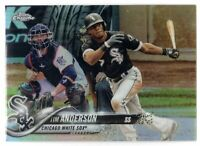 2018 Topps Chrome Baseball Tim Anderson SP Refractor #44 Chicago White Sox