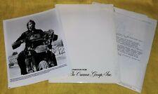 DELTA FORCE 1986 original press kit CHUCK NORRIS LEE MARVIN 9 photos ACTION