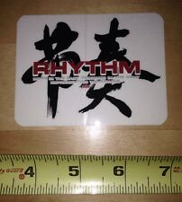 Rhythm Skateboards Sticker Nos Vintage Planet Earth Video Chinese 90s Skate
