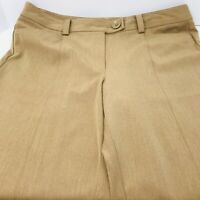 Talbots Size 16 Stretch Tan Khaki  Womans Pants