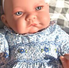LEA BEBE ARTICULE d'ANTONIO JUAN ROBE SMOCKS collection reborn jouet poupée