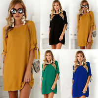 New Plus Size Women Long Sleeve Casual Tops Loose Blouse Tee Shirt  S-6XL