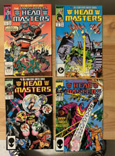 The Transformers: HEAD MASTERS #1-4 Marvel 1987