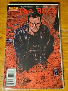 The  Boys #14 Darick Robertson Cover Garth Ennis Justice League Parody