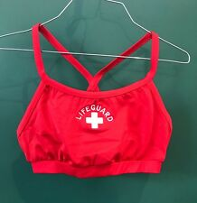 Lifeguard Bikini Top, Size: Large