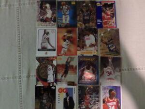 Choice-Huge lot of 100 HOF basketball Cards-Shaq,Ewing, Isaiah, Robinson, Mullen