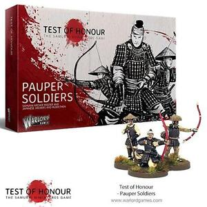 H PAUPER SOLDIERS - TEST OF HONOUR - WARLORD GAMES