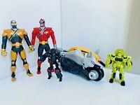 Power Ranger Super Samurai Bandai Flip Head Figures, Zord & Transformers Bundle