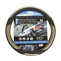 Car+ 2505069 Snake/beige/black/chrome Steering Wheel Cover - Snake Beige