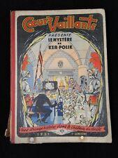 LIVRE COEURS VAILLANTS LE MYSTERE DE KER POLIK 1951 B1947