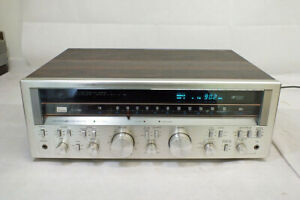 Vintage Sansui G-7700 Stereo Receiver AM FM - Lights Up but Untested