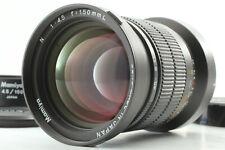 【Top Mint w/ Hood】 Mamiya N L 150mm f/4.5 L N Lens for Mamiya 7 7II from JAPAN