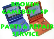 Fix Broken AS IS Nintendo Gameboy Advance SP GBA System Parts and Repair Service