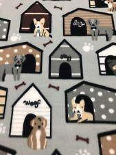 Dog Themed Fleece Blanket