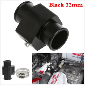 1x 32mm Car Water Temp Temperature Joint Pipe Sensor Gauge Radiator Hose Adapter