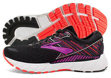 Brooks Adrenaline GTS 19 Womens Shoe Black/Purple/Coral multiple szs New In Box