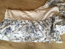Laura Ashley Home Off White Double Valance Sheet