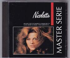 NICOLETTA - MASTER SERIE CD ALBUM POLYGRAM FRANCE 1988/1991
