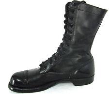 Corcoran Boots Sz 9.5 B Mens Military Biker Field Combat Cap Toe Leather Vtg USA