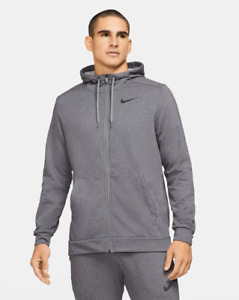Nike Dri-FIT Men's Full-Zip Training Hoodie Sustainable Materials