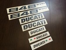 DUCATI 848evo 848 EVO full decals stickers graphics logo set kit