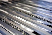 Mosaik Fliese Aluminium Verbund Alu silber matt gebürstet |49-L401GS_f|10Matten