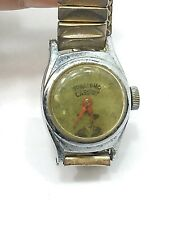 Vintage HOPALONG CASSIDY Children's Wrist Watch from US TIME - Untested