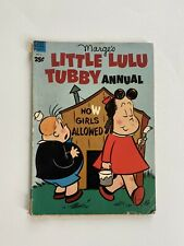 Margie's Little Lulu & Tubby Annual 2 Dell Giant Series FN/VF 7.0 White Pages