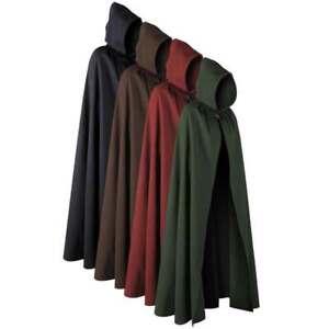 Aaron Cloak - Medieval Hooded Cape