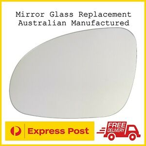 Volkswagen Passat B6 B7 Typ 3C 2006 - 2011 Left Passengers Side Mirror Glass