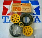 NEW 2 x UNUSED 1/10 Tamiya Falcon Front Tire Tyre with Wheel 5287