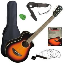 Yamaha APXT2 3/4 Acoustic-Electric Guitar - Sunburst GUITAR ESSENTIALS BUNDLE
