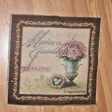 Maison des Jardins Flowers Peonies Tapestry Pillow Top Fabric Piece
