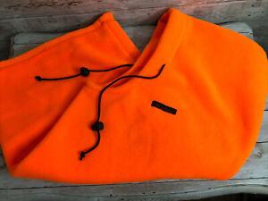 Grundens Head Sock Neck Warmer Fleece Gear Orange One Size