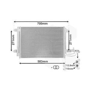 1 Condenseur, climatisation VAN WEZEL 58005209 *** IR PLUS *** convient à VW