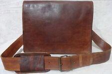 Men's Vintage Look Leather FullFlap Messenger Laptop Satchel Shoulder Bag india