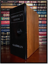 American Gods ✎SIGNED✎ by NEIL GAIMAN Hill House Ultimate Limited Lettered B/52