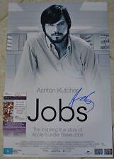 Ashton Kutcher Signed 12x18 Poster w/ JSA COA #R76436 Steve Jobs