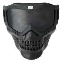 Occhiali da moto staccabili per esterni Maschera per casco Sci Sport